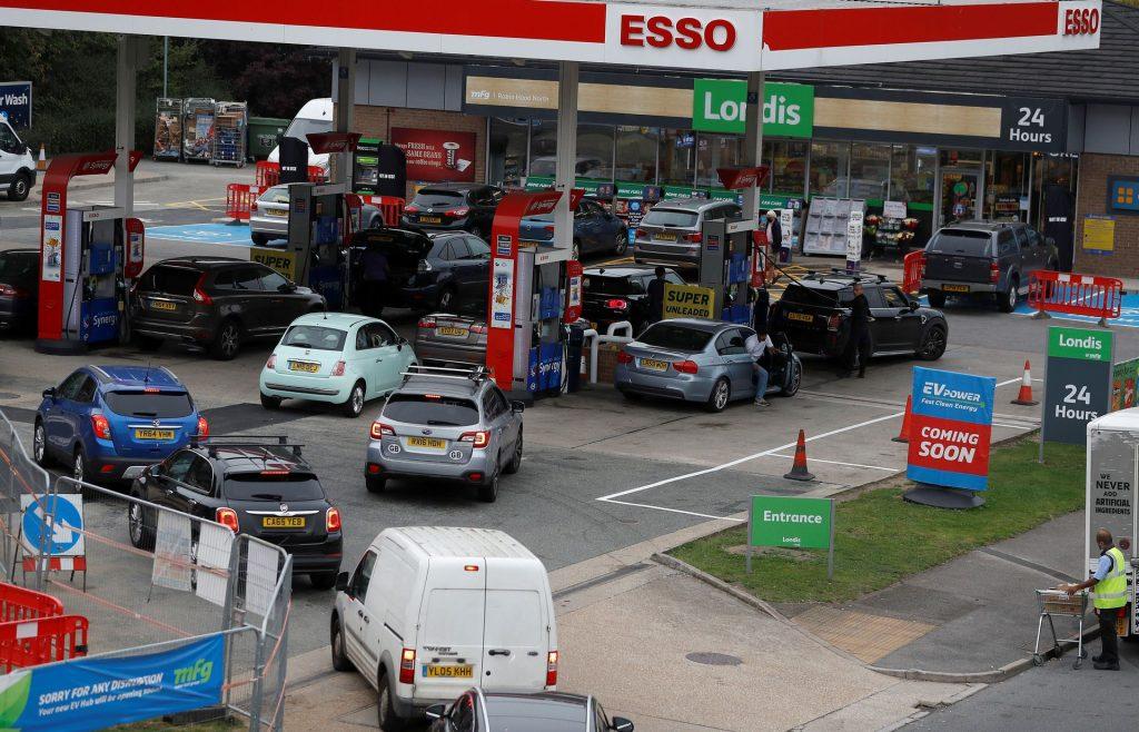 Министр транспорта Великобритании призвал к спокойствию автомобилистов