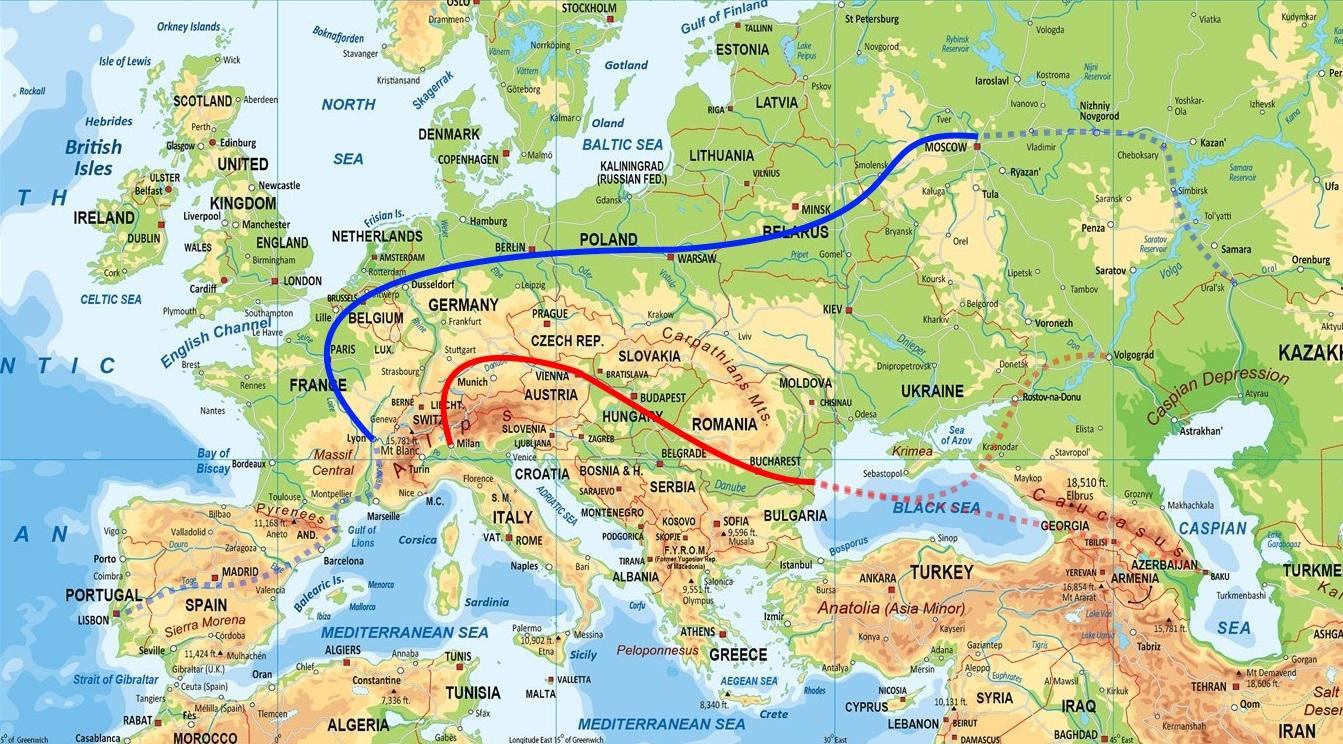 Проект «Европейский Шелковый путь» восстановит Европу