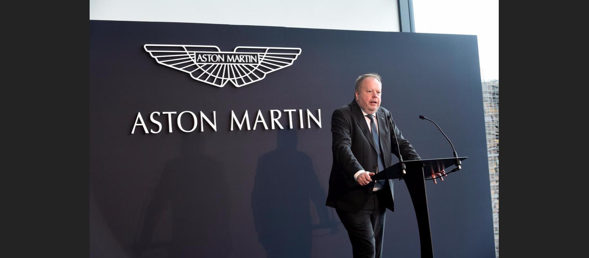 Глава Aston Martin уходит