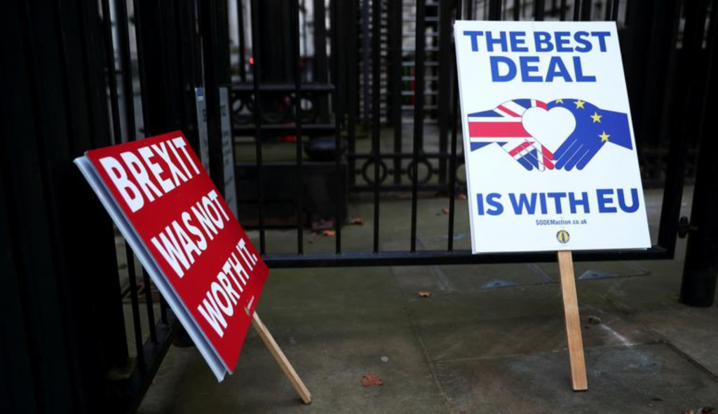 Британия и ЕС опубликовали торговое соглашение о Brexit