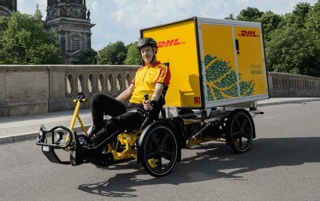 Deutsche Post DHL Group тестирует велорикши