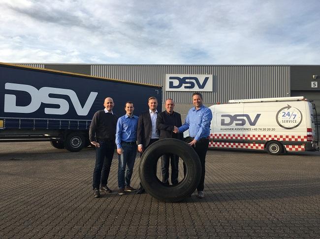 DSV будет распространять шины Westlake в Скандинавии