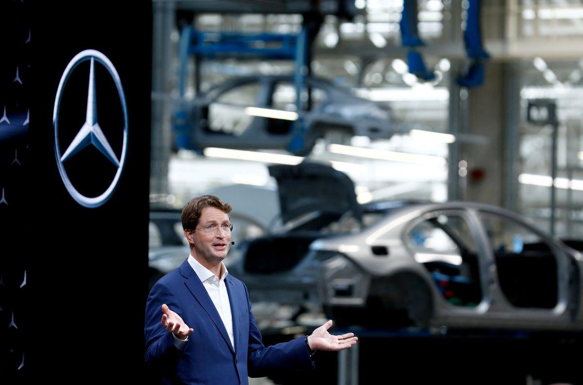 Генеральный директор Daimler надеется стабилизировать цепочку поставок в этом квартале