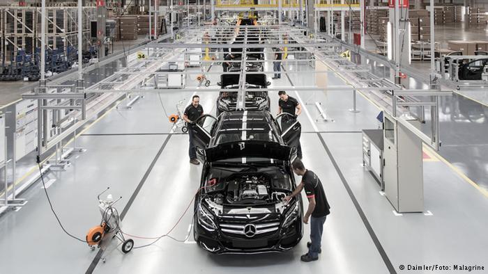 """В марте 2016 года Daimler запустил в Бразилии завод по выпуску 20 тысяч """"Мерседесов"""" в год"""