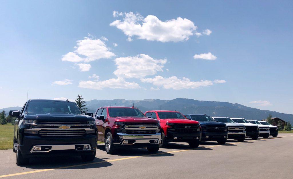Пикап GM получит технологическую модернизацию