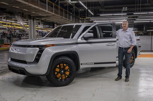 Lordstown Motors Corp's (RIDE.O) работает над запуском грузовика Endurance
