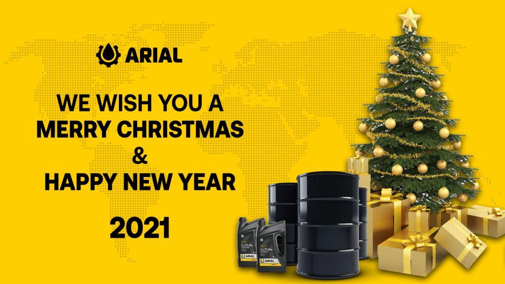 Компания ARIAL OIL поздравляет вас с Рождеством Христовым