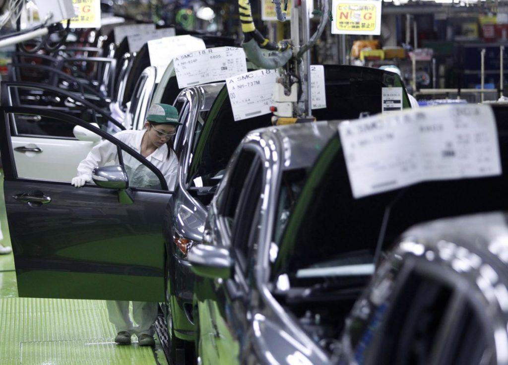 Honda ждет роста производства до 70% мощности в октябре