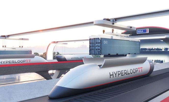 В Гамбурге представят концепцию Hyperloop для портовых грузов