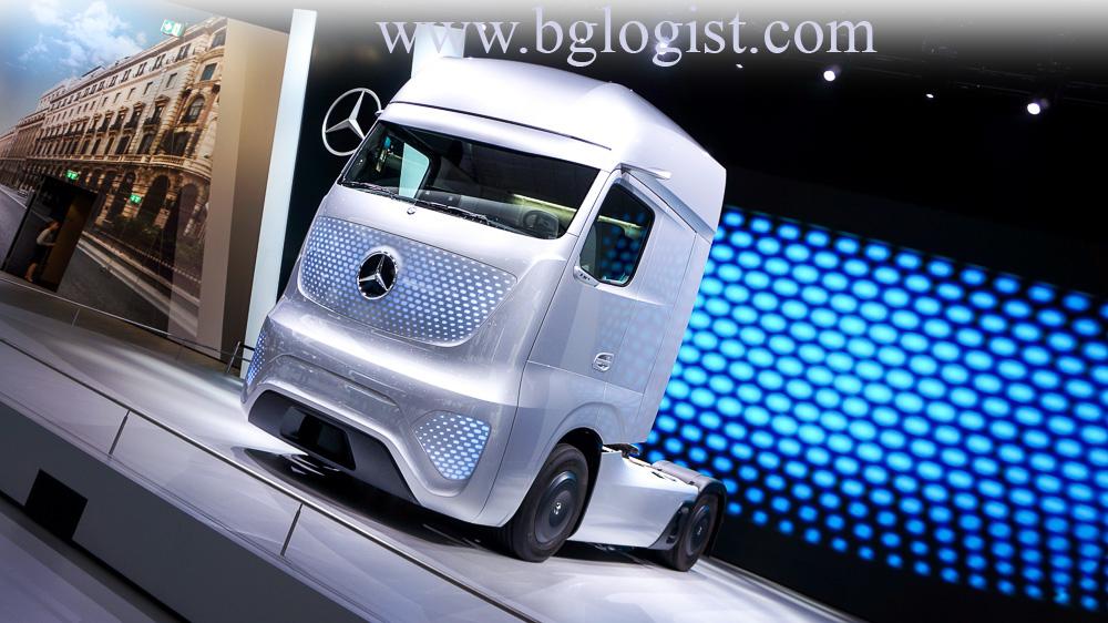 Грузовик будущего 2025 от Mercedes-Benz