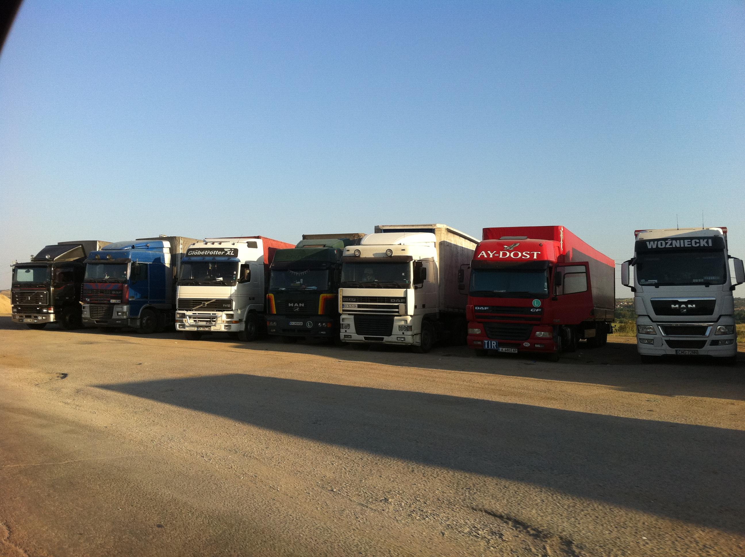 Москва дает добро грузовикам