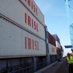 Иранский контейнеровоз взял курс на Европу
