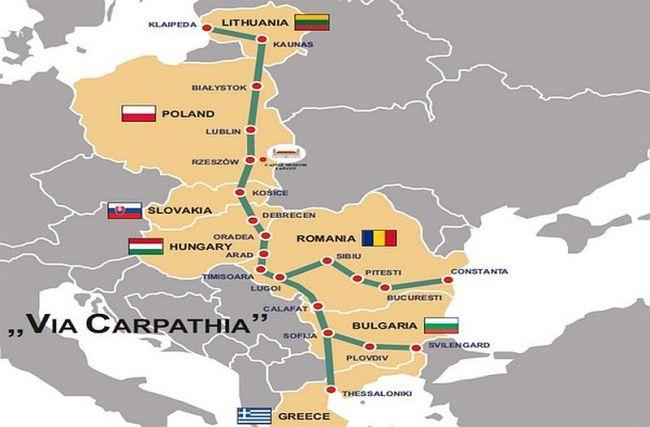 Балтийский регион с Балканским соединит автомагисталь