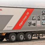 Kögel Cargo TIR среди экспонатов в Ганновере