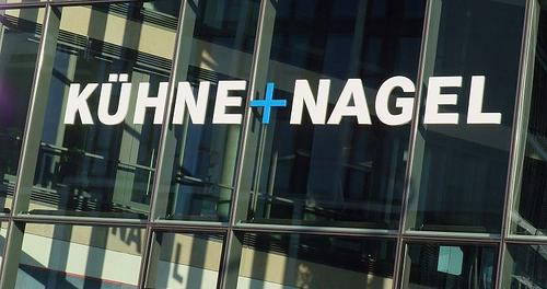 Новый транспортный центр Kuehne + Nagel