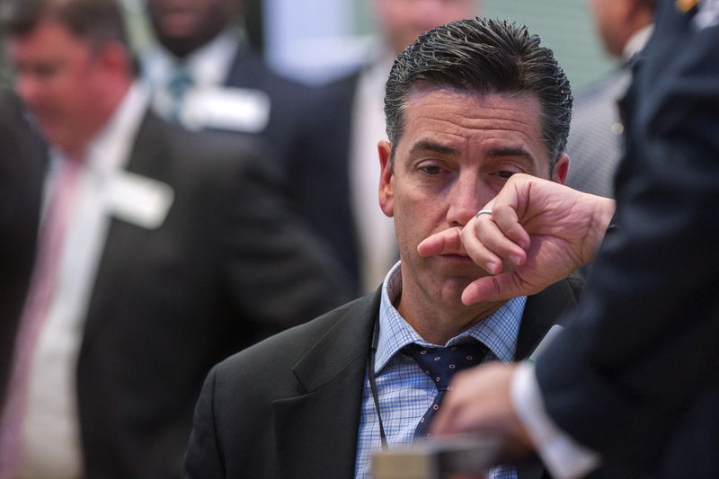 © Reuters. Европейские рынки акций демонстрируют минорный настрой