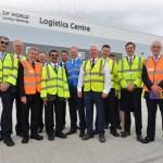 Открыли логистический центр в DP World London Gateway
