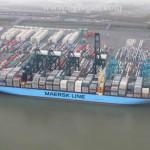 Mary Maersk установил рекорд, загрузив 17 603 контейнера