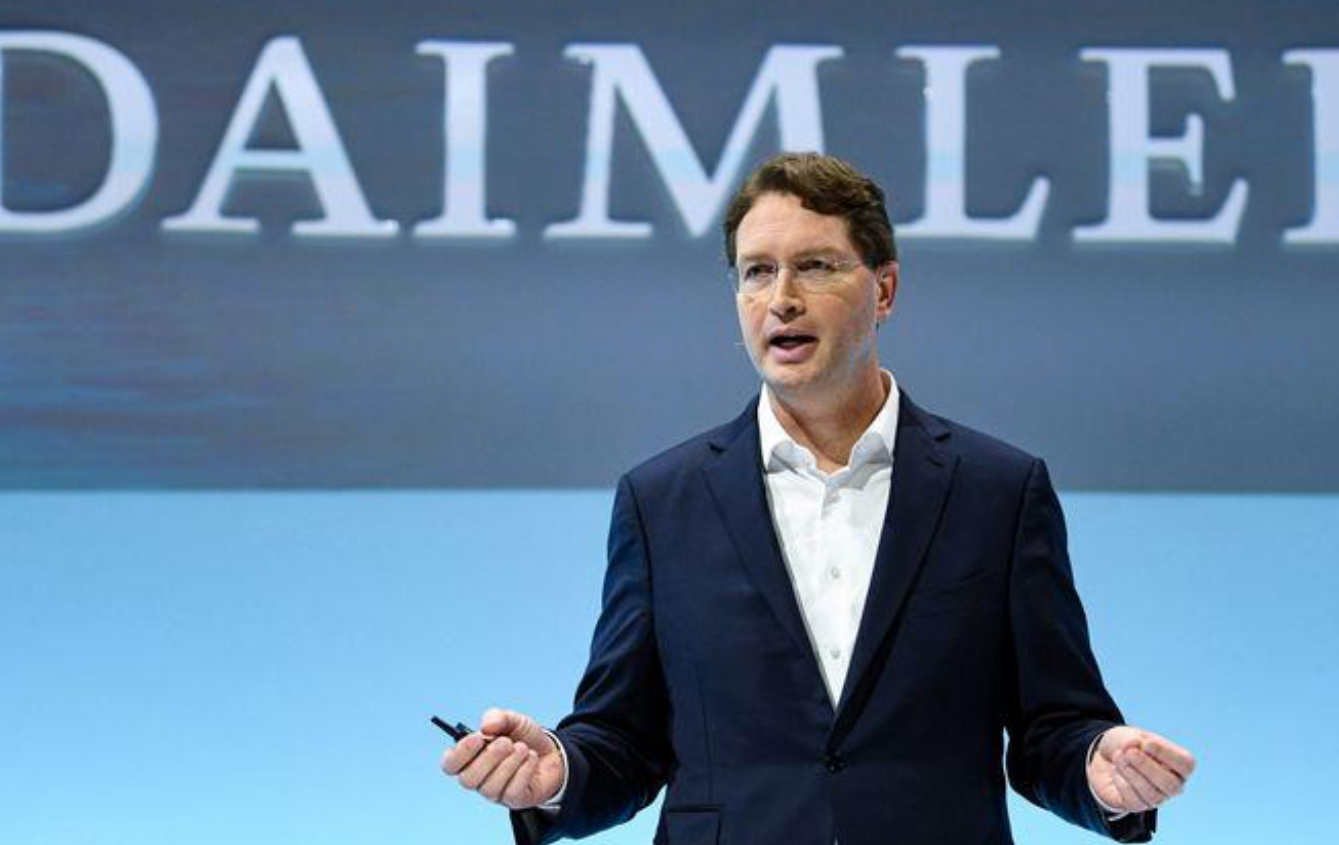 Ola Kaellenius, CEO of German luxury car manufacturer Daimler AG