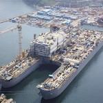 Самое большое судно в мире будит достроено в Роттердаме