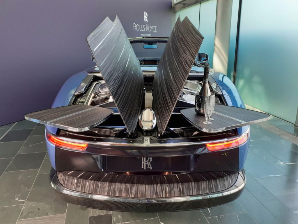 Rolls-Royce создает «самое изысканное место для пикника на Земле»