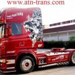 Выставка тюнинговых грузовиков в Румынии
