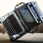 Дерзкий каскад на двух колесах от Volvo FH