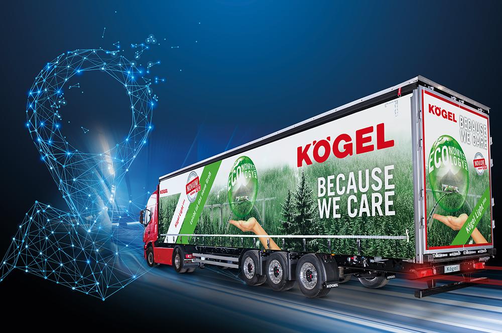 Система Kögel Telematics в стандартной комплектации