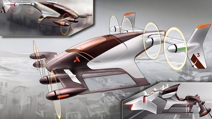 Airbus проведет тест автономного летящего автомобиля