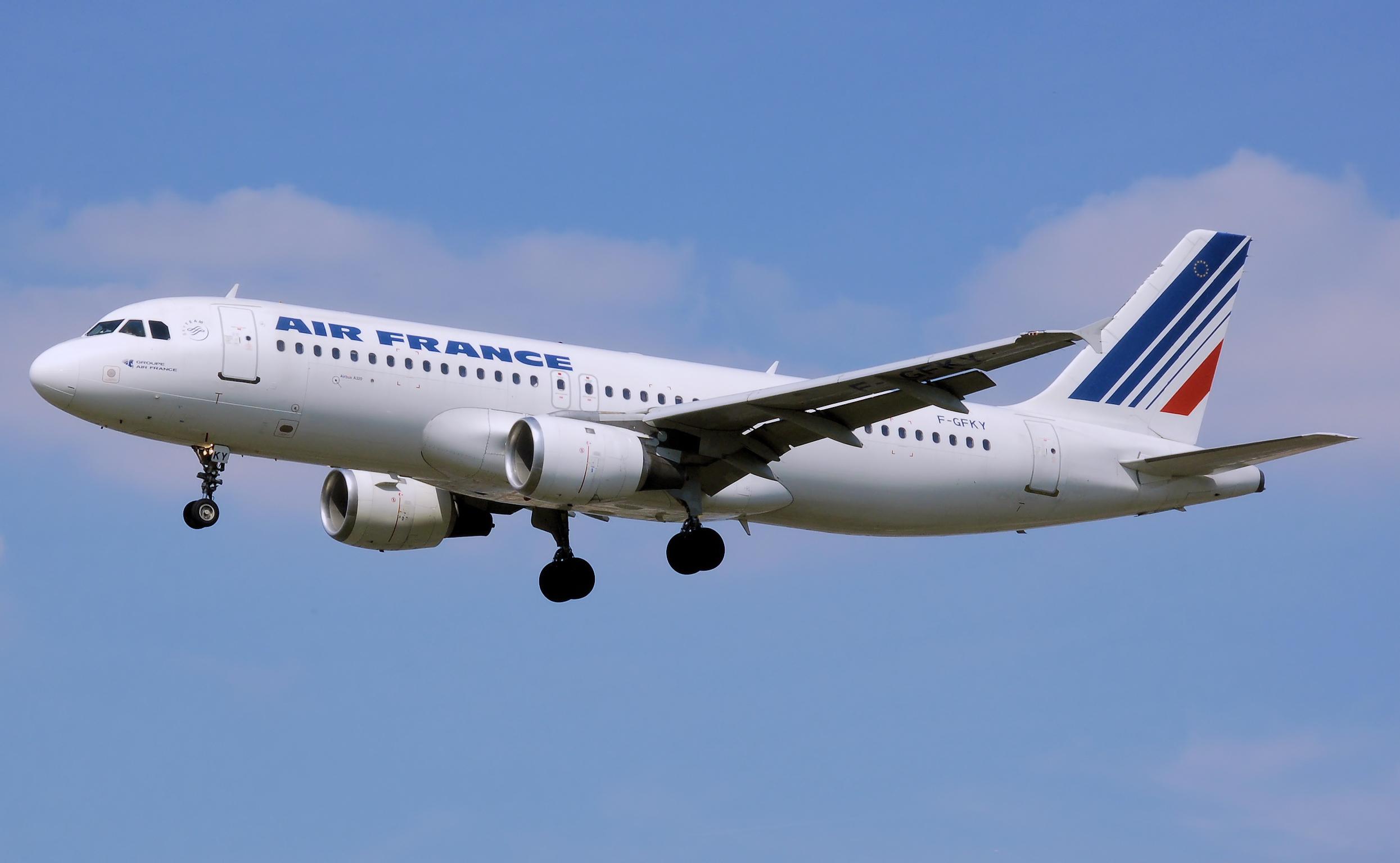 Air France отменила рейсы в Софию