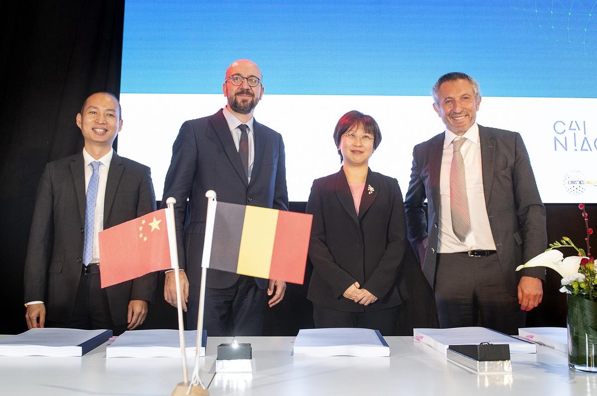 Alibaba создает новый логистический центр в Льеже