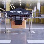 Amazon построит площадки для дронов на уличных фонарях