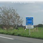 Протесты и блокада дорог в Бельгии