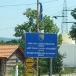 Затруднено дорожное движение в Боснии и Герцеговине