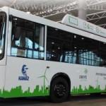 Новый электрический автобус из KAMAZ