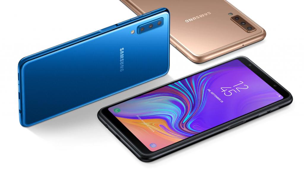Смартфоны Samsung GALAXY A7 по доступной цене