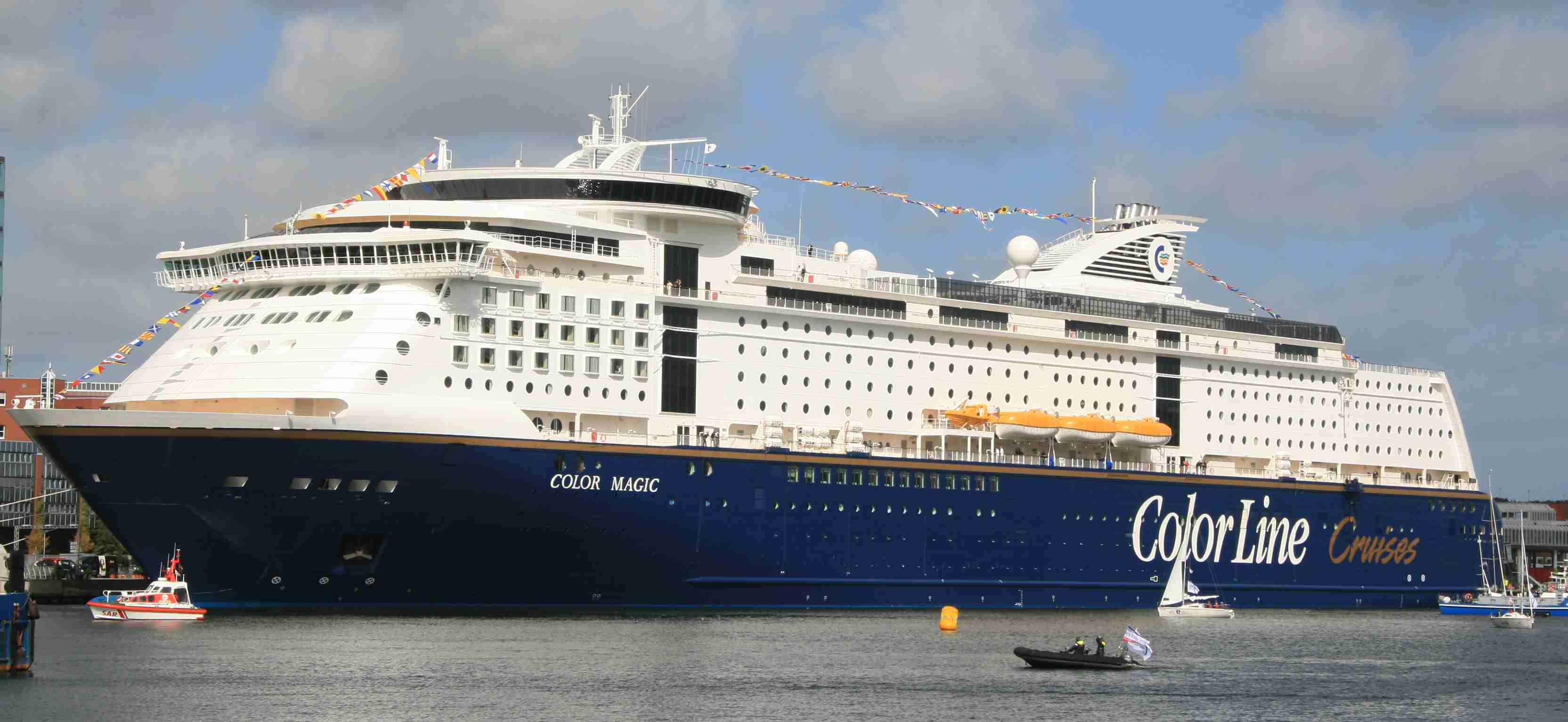 Color Line запускает новое судно