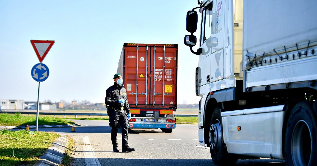 Актуализация законодательства Италии в связи со вспышкой COVID-19, касающиеся дальнобойщиков