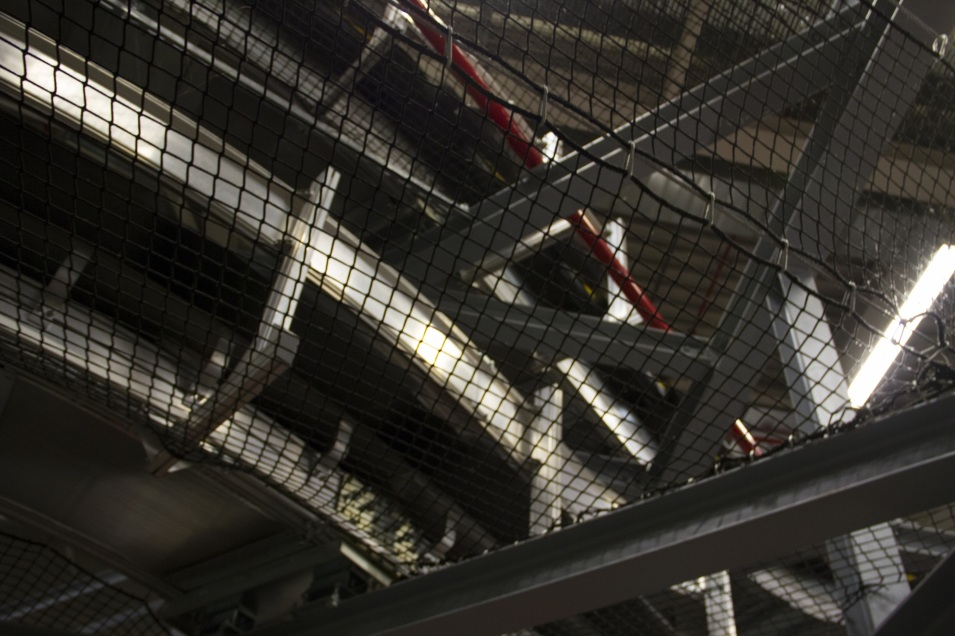 Ленты и спуски конвейеров