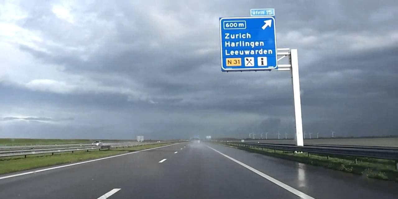 В Нидерландах проходят испытания новых автомобильных дорог