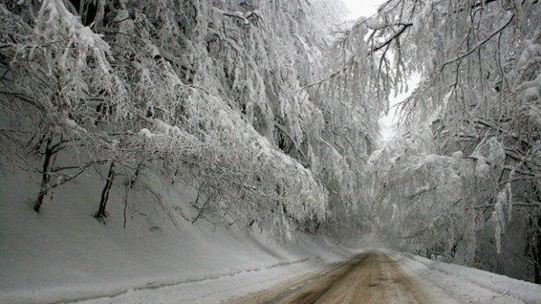 Македония скована льдом