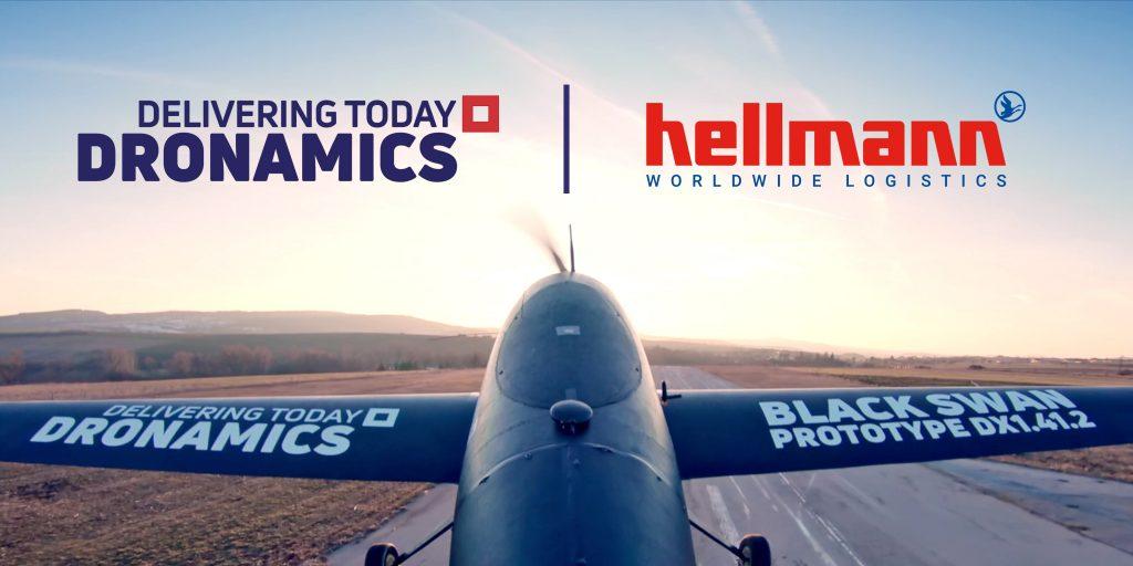 Hellmann запускает полеты грузовых дронов по Европе