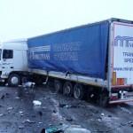 Жуткая авария с участием компании Miratrans