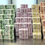 В Литву доставили евро