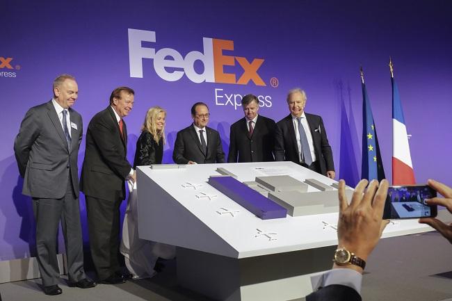 FedEx Express расширяет свой центр в аэропорту  Парижа