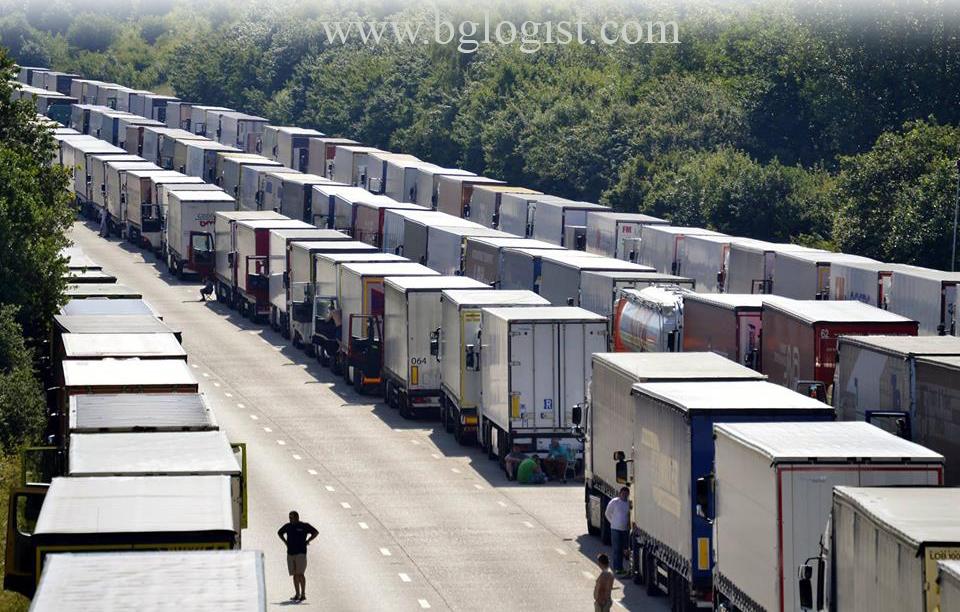 Евротеннель блокирован нелегальными мигрантами