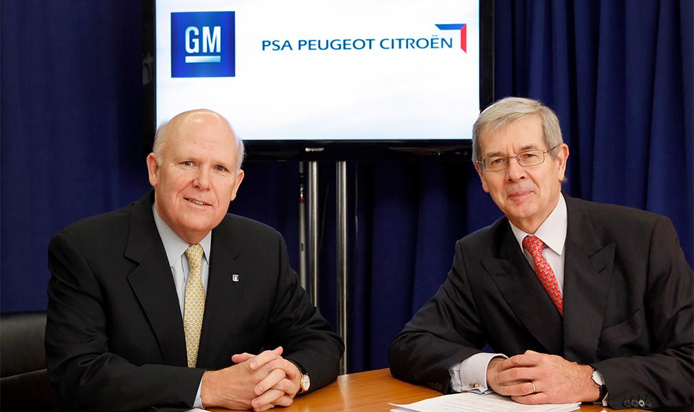 PSA Peugeot Citroen покупает активы General Motors в Европе