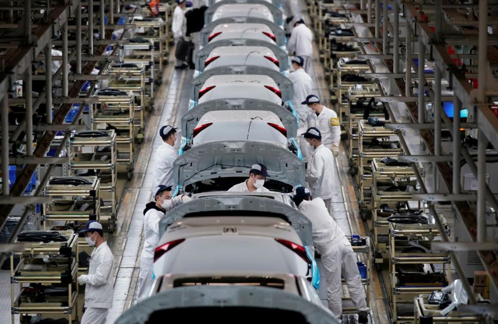 Продажи Honda, Nissan в Китае упали в июне