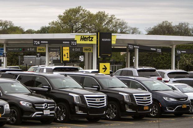 Hertz подает документы на защиту от банкротства в США
