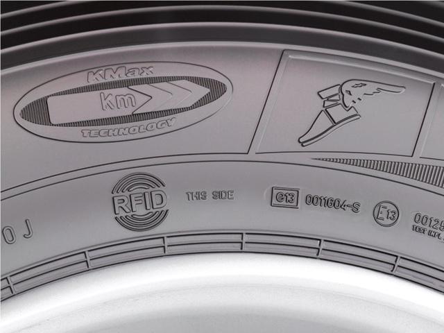 Goodyear сделал микрочип для грузовых шин